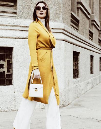Laura Chiari adora le borse Amato Daniele