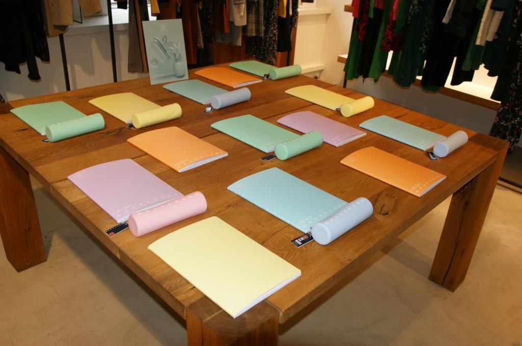 PIGNA: collezione astucci e quaderni color pastello