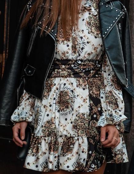 Alessandra ventura in abito Mangano