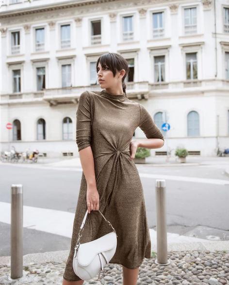 Alessia Sica in abito Paperlace