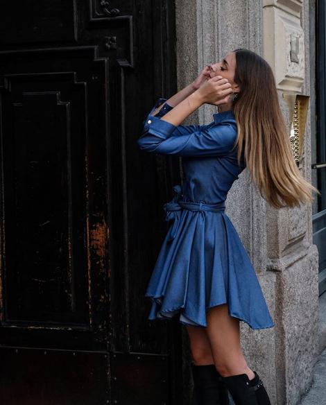 Arianna Venura in abito Mangano