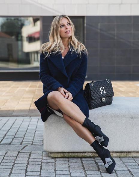 Francesca Leto sceglie scarpe NR Rapisardi