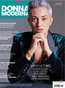 DONNA MODERNA cover